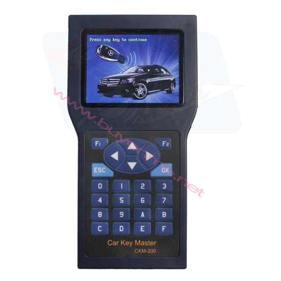 Car Key Master Handset CKM-200 with Unlimited Tokens